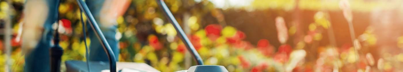 tondeuse entretien jardin